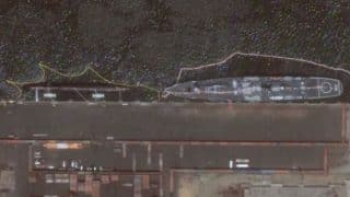 Chinese nuclear submarine spotted at Karachi by Google Earth