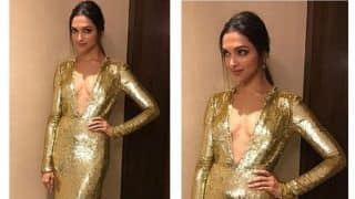 Deepika Padukone at xXx: Return Of Xander Cage premiere in Mumbai as the smouldering Golden Girl! See Picture!