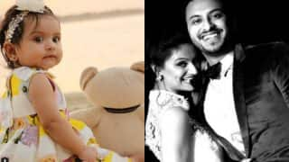 Dimpy Ganguly shares photos of baby daughter Reanna on Instagram and it will surely steal your hearts away!