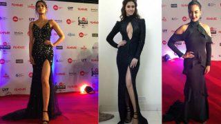 Filmfare Awards 2017: Disha Patani, Kriti Sanon, Sonakshi Sinha among the ditzy divas who went Bold with Black on the red carpet!