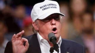 'You're not forgotten anymore', Donald Trump tells supporters