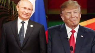 Trump, Putin discuss stabilizing ties, says Moscow