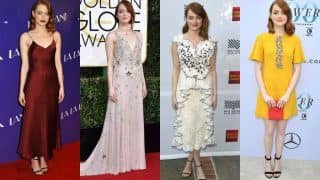 Emma Stone special: Top 10 times the La La Land actress nailed the red carpet look! (In pictures)