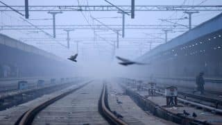 Delhi: 17 trains delayed, 6 rescheduled and 12 cancelled due to fog; light showers expected