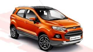 Ford EcoSport Platinum launched; price in India INR 10.39 lakh