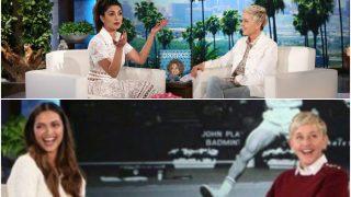 Deepika Padukone's debut on The Ellen DeGeneres Show looks like a snooze fest compared to Priyanka Chopra's FIREBRAND act!