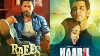 Raees vs Kaabil BO report day 3: Shah Rukh Khan's film rules box office; Hrithik Roshan's film garners Rs 38 crore
