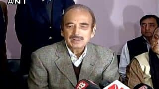 RBI Governor must resign, institution's autonomy lost: Ghulam Nabi Azad