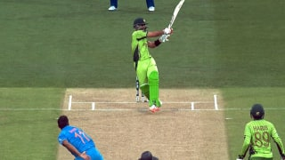 Watch: Ahmed Shehzad perfectly adapts the helicopter shot