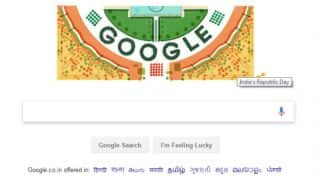 India's Republic Day Google Doodle: Tri-Colour themed March Past Parade honours the 68th Republic Day of India