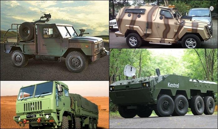 Indian military vehicles (प्रतिकात्मक फोटो)