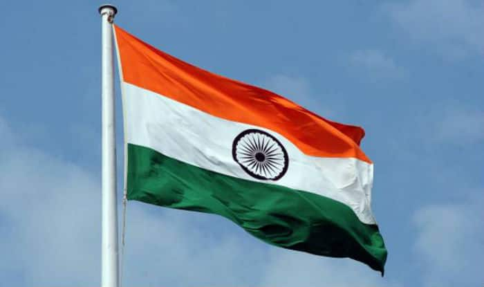 India's largest flag can been seen from Lahore in Pakistan