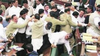 Jammu and Kashmir Assembly budget session: Opposition disrespects National Anthem, creates ruckus