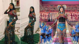 Oh no! Did Jhanvi Kapoor copy Katy Perry's rip-off dress from Dark Horse?