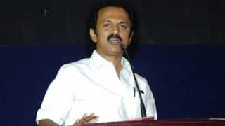 M K Stalin elected as DMK working president