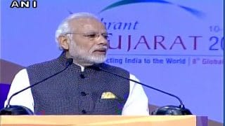 'Make in India', is the biggest brand nation ever had: Narendra Modi at Vibrant Gujarat Summit