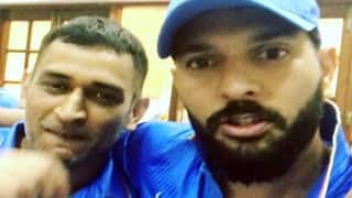 Yuvraj Singh and MS Dhoni pay tribute to each other in an Instagram video