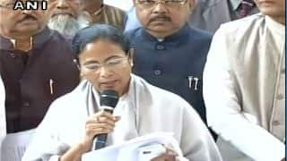 Mamata Banerjee wants Advani, Rajnath or Jaitley to head the Government, urges President to intervene