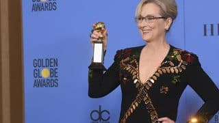Meryl Streep wins over Bollywood with her powerful Golden Globes speech