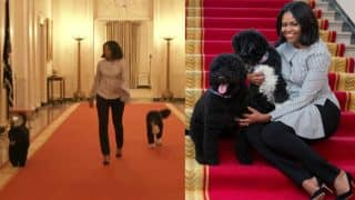 Michelle Obama takes emotional 'last walk' through White House (Watch Video)