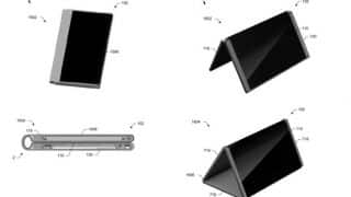 Microsoft takes on Samsung, files patent for foldable smartphone which converts into a tablet!