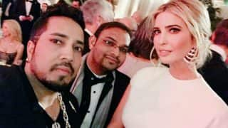 Mika Singh attends US President Donald Trump's pre-inaugural dinner! Shares pictures with Ivanka Trump on Twitter