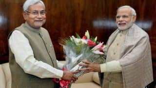Nitish Kumar congratulates BJP, says demonetisation gave satisfaction to poor