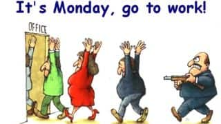 Best WhatsApp messages to fight Monday Blues on First Monday of 2017: Funny Images, Jokes & Inspirational messages to start the New Year