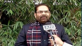 Budget to take place as scheduled, no scope for a change: Mukhtar Abbas Naqvi