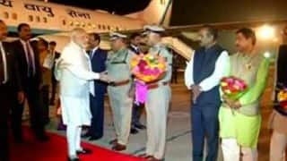 Narendra Modi reaches Bengaluru to attend 14th Pravasi Bharatiya Divas