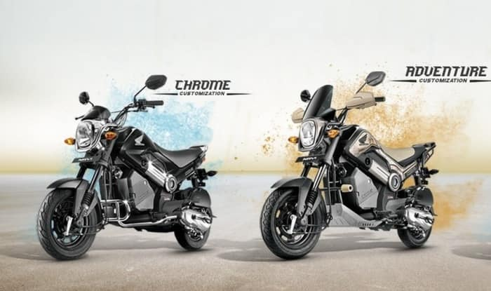 Honda Navi Adventure Edition, Chrome Edition announced