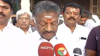 90 per cent spill cleared, fish safe for consumption: Tamil Nadu Chief Minsiter O. Panneerselvam on Chennai oil spill