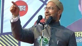 Asaduddin Owaisi says Triple Talaq our right; Swamy hits out at him, Congress says he's polarising polls