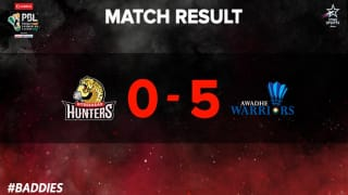 Premier Badminton League 2017: Awadhe Warriors beat Hyderabad Hunters by 5-0 margin in Hyderabad