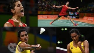 PV Sindhu vs Carolina Marin PBL 2017 live streaming: Watch online streaming of Chennai Smashers vs Hyderabad Hunters Premier Badminton League 2017 match
