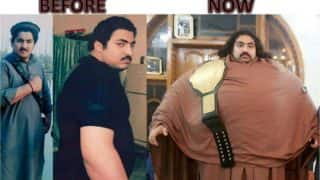 Arbab Khizer Hayat aka Pakistani Hulk keen to join WWE! 435 Kg gentle giant claims to be world's strongest man (See Pictures & videos)