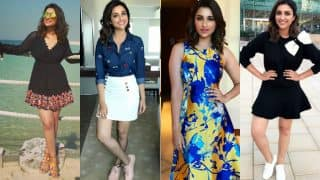 Parineeti Chopra of Meri Pyaari Bindu is making us swoon with her insanely awesome style game while shooting in Dubai!