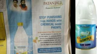 Baba Ramdev's Patanjali Gonyle, the floor disinfectant with cow urine, trolled on Twitter!