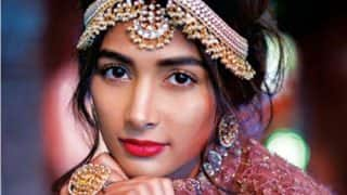 Pooja Hegde is this New Year's Modern Traditionalist Bride! Pictures of sizzling cover girl sets the temperature soaring