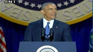 Barack Obama farewell speech: America is better, stronger place than it was when we started