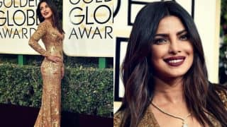 Priyanka Chopra sizzles at Golden Globe Awards 2017, reveals her experience of being a presenter at the Awards night!