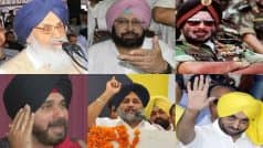 Punjab Assembly Elections 2017: Key candidates in Punjab poll fray