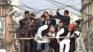 Uttar Pradesh Assembly elections 2017: Stage collapses ahead of Rahul-Akhilesh's speech in Allahabad, no casualties