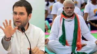 Rahul Gandhi's demonetisation and Padmasana jibe at PM Narendra Modi makes him a butt of jokes again on Twitter