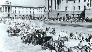 यहां मनाया गया था पहला गणतंत्र दिवस समारोह, तस्वीरें वायरल