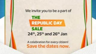 Flipkart Republic Day 2017 Sale begins: Check out best deals on smartphone