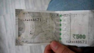 New Rs 500 note with its ink faded goes viral on Twitter! Picture shows everything wrong with the currency