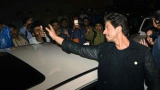 Shah Rukh Khan steals the show in a Raees jacket at the Dabboo Ratnani Calendar launch! See Pics!