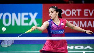 PBL LIVE Score, Awadhe Warriors Vs Delhi Acers: Saina Nehwal defeats Nichaon Jindapol by 14-12, 11-7