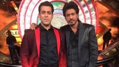 Bigg Boss 10: Salman Khan and Shah Rukh Khan's FIRST PICTURE from Bigg Boss 10 sets out! Salman Bhai shares it on Twitterand we love their stern look
